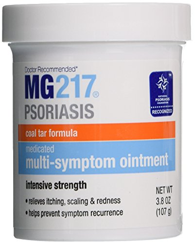 MG217 Medicated Tar Ointment Intensive Strength Psoriasis Treatment