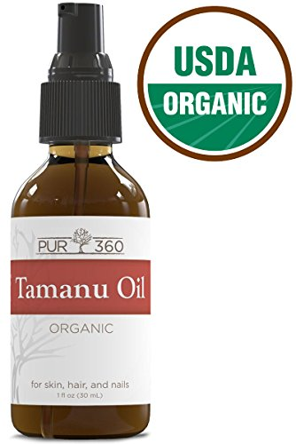 Pur360 Tamanu Oil - Pure Cold Pressed - Best Treatment for Psoriasis