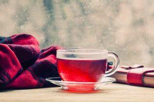 red tea drink