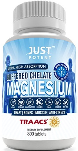 Just Potent Ultra-High Absorption Magnesium Chelate