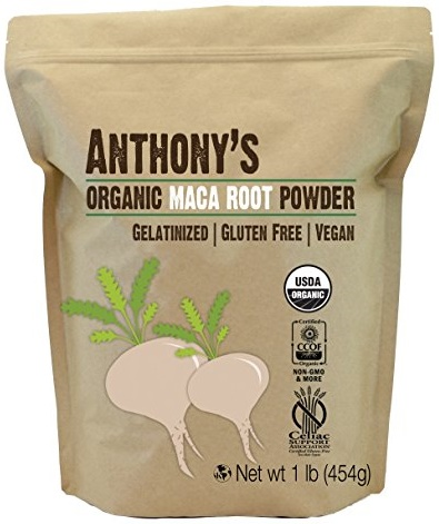 Anthony's Organic Maca Root Powder